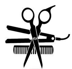 Source by salon Hair Scissors, Hair Shop, Clip Art, Hair Quotes, Silhouette Cameo Projects, Vinyl Designs, Cricut Design, Hair And Nails, Hair Accessories