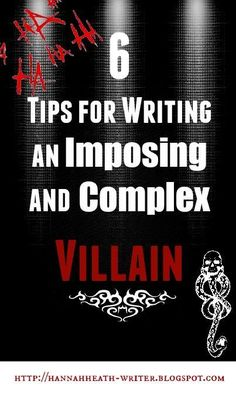 Hannah Heath: 6 Tips for Writing an Imposing and Complex Villain