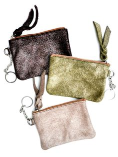 Shimmer Suede Keyfob {slash i might gift this one to myself, too....}