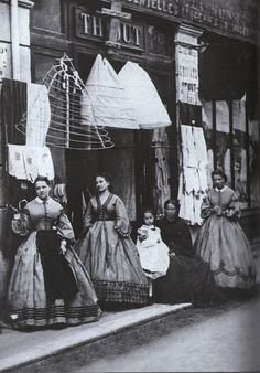 Eugène Atget~The Crinoline shop c.1880