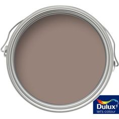 Try a new look with a feature wall in this delicious Intense Truffle shade from Dulux #painting #decorating #autumn #homeimprovements
