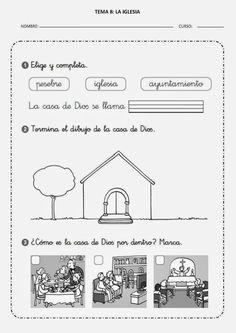 Aprendemos en reli: TEMA 8: LA IGLESIA - FICHA 2