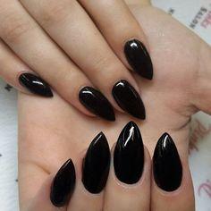 Black Stilletos!  #blacknails #stilettonails #nailsbylindsey #rivertonnails #sandynails #saltlakenails #nailideas #nailart #naildesigns #utahnails #pinkssalon #nailart #nailporn #youngnails #nailaddicts #nailsofinstagram #nailpromagazine #nailsmag #notd  #nailtech #nails #acrylicnails #slcnails #nailprodigy #nicenails #nailgasm #nailstagram #nailartjunkie #ynutah #maniq by nailsbylindsey_
