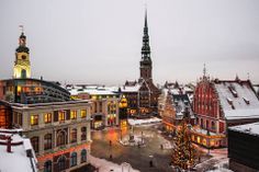 Christmas time in Riga.