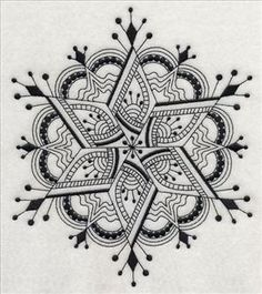 """""""black work"""" Machine Embroidery Designs at Embroidery Library!"""