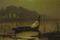 The Lady of Shalott 1875 [John Atkinson Grimshaw]