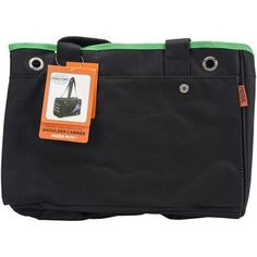 """Prefer Pets Urban Tote Carrier 15""""""""""""""""X11""""""""""""""""X8""""""""""""""""-Green"""