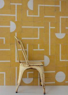 popham design :: cement tiles :: handmade in morocco - Keramik Handmade Home Decor, Handmade Furniture, Handmade Tiles, Deco Design, Tile Design, Design Design, Motif Design, Scandi Living, Encaustic Tile