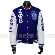 Zeta Phi Beta Wool Jacket. Like I really need another to add to the collection
