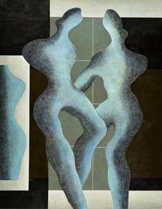 São Mamede - Galeria de Arte  Justino Alves Imagem XXXII - 147)04 2014 Óleo x Tela 146 cm x 114 cm