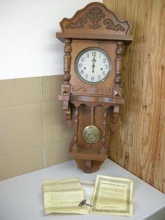 Wall Clock アンティーク アンソニア クロック 柱時計 掛時計 「USED」 Watch Antique ¥45800yen 〆07月13日