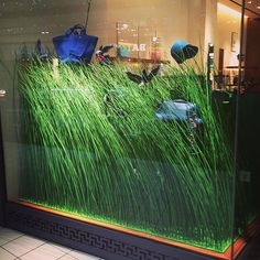 "HERMES,Heathrow Airport, London,UK, ""The grass isn't always greener on the other side!"", pinned by Ton van der Veer"