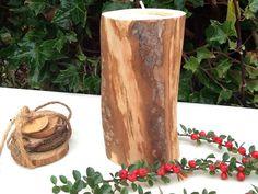 Sostenedor ligero del té de madera de pino de por PrettyDarnWood