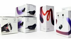 dieline.com packaging Buhell application bone conduction technology