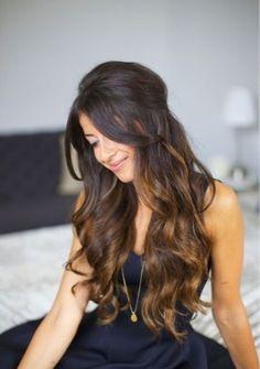 I love her hair peek aboo high lights