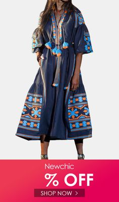 I found this amazing Ethnic Print Patchwork Tassels 3/4 Sleeve Maxi Dress For Women with US$34.99,and 14 days return or refund guarantee protect to us. --Newchic #Womensdresses #womendresses #womenapparel #womensclothing #womensclothes #fashion #onlineshop #onlineshopping #bigdiscount #shopnow #DiscountSale #discountprices #discountstore #discountclothing #fashionista #fashionable #fashionstyle #fashionpost #fashionlover #fashiondesign #fashionkids #fashiondaily #fashionstylist #fashiongirl Backless Maxi Dresses, Maxi Dress Wedding, White Maxi Dresses, Plus Size Maxi Dresses, Maxi Dress With Sleeves, Floral Maxi Dress, Cheap Summer Dresses, Diy Dress