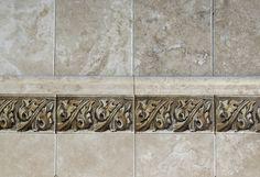 Brown Oak Custom Tile Designs | Kitchen Backsplash or Bathroom Tile | StoneImpressions