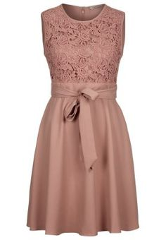 HAZEL - Cocktailkleid / festliches Kleid - blush