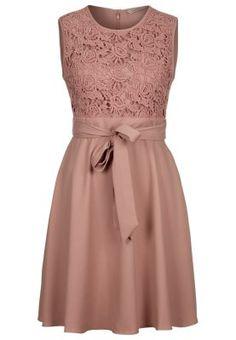 HAZEL - Cocktailkleid / festliches Kleid - blush