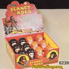 Planet of the Apes toys…