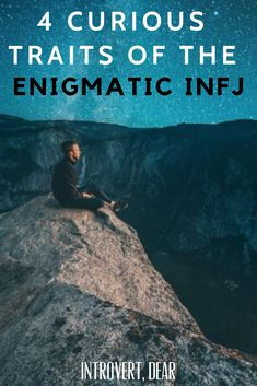 Here are four traits that might make the INFJ one of the most enigmatic of all the personality types. Infj Traits, Intj And Infj, Infj Type, Infp, Rarest Personality Type, Myers Briggs Personality Types, Myers Briggs Personalities, Infj Personality, Intro To Psychology