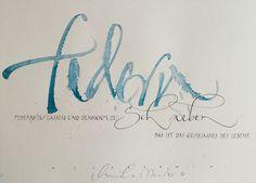 Schweizerische Kalligraphische Gesellschaft - Mitgliedergalerien