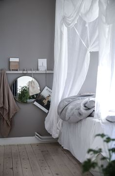 Anna Kubel - kontakt: annakubels@gmail.com Dream Bedroom, Home Bedroom, Interior Design Inspiration, Home Interior Design, White Houses, Dream Decor, Bedroom Inspo, New Room, Living Room Decor