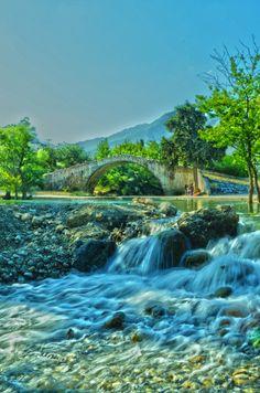 """Near the Old Bridge"" Greece"