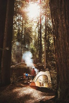 RV And Camping. Ideas To Help You Plan A Camping Adventure To Remember. Camping can be amazing. You can learn a lot about yourself when you camp, and it allows you to appreciate nature more. There are cheerful camp fires and hi Outdoor Life, Outdoor Camping, Backyard Camping, Outdoor Gear, Outdoor Living, Adventure Awaits, Adventure Travel, Adventure Gear, Nature Adventure