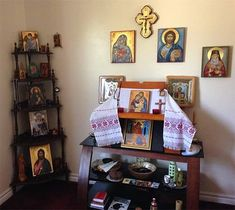 BlessedMart Customer Review Prayer Corner / Home Altar Hand-Painted Icons by BlessedMart.com