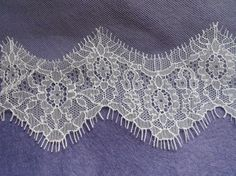 Ivory Chantilly Lace Trim in a choice of 4 by AsYouLikeItStudio