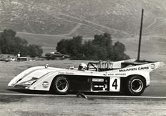 Peter Revson Gulf McLaren M-20 Riverside Raceway 1972