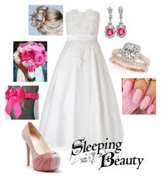 """""""Disney - Aurora"""" by briony-jae ❤ liked on Polyvore featuring Monsoon and Allurez"""