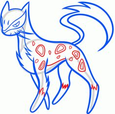 How to Draw Liepard, Step by Step, Pokemon Characters, Anime, Draw Japanese Anime, Draw Manga, FREE Online Drawing Tutorial, Added by Dawn, July 20, 2013, 7:39:11 pm