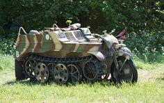 German Army, World War 2, History, Kettenkrad, Transport, Wehrmacht