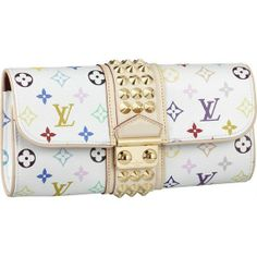 677cd06a10fa Louis Vuitton Monogram Multicolore Courtney Clutch Bright and feminine