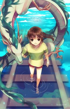 Spirited Away #ghibli                                                                                                                                                      Mais