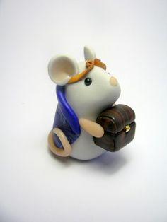 Melchior the Magi Mouse - The Mouse Nativity Set #5
