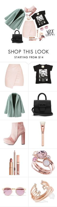 """#499"" by agostina-sanguinetti ❤ liked on Polyvore featuring ElevenParis, Maison Margiela, Charlotte Russe, ZOEVA, Dolce Vita, Ted Baker, Sheriff&Cherry and Kendra Scott"