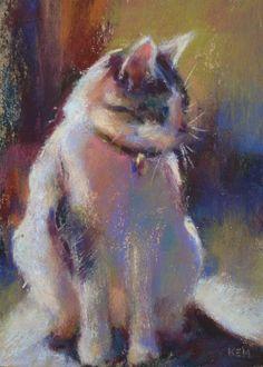 Beautiful painting of this precious kitty