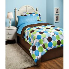 In Style Roundabout Bed In A Bag, Blue