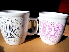 The Simple Little Treat: Personalized Coffee Mugs