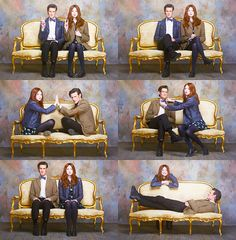Matt smith and Karen Gillan. They're maybe the cutest pair of best friends I have ever seen..