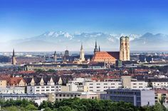 Munich. Want to see the city with an English guide? Check out http://www.bajabikes.eu/en/bike-tour-munich