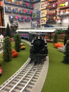 Layout at Trainworld