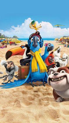 Watch Rio FULL MOVIE Sub English Disney E Dreamworks, Disney Movies, Disney Characters, Wallpaper Animes, Disney Phone Wallpaper, Movie Wallpapers, Cute Cartoon Wallpapers, Rio Movie, Parrot Wallpaper