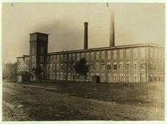 View of Clinton Mills (S.C.) Superintendent would not allow me to take photos in mill. Many youngsters employed. See photos Nos. 359 and 375...