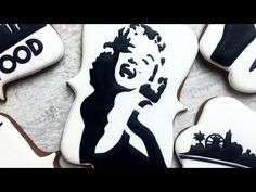 HOLLYWOOD SILHOUETTES COOKIES by TaleCookies - YouTube