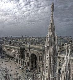Milan Cathedral...the first time I saw this, I came up from the underground train.  It was breathtaking.