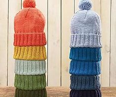 Everyday Knit Hat Pattern